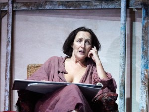 Fiona Shaw in Scenes from an Execution. Photo: Mark Douet