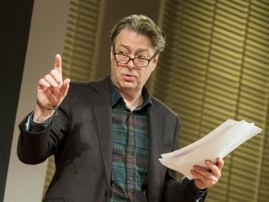 Roger Allam in Seminar. Photo: Alastair Muir