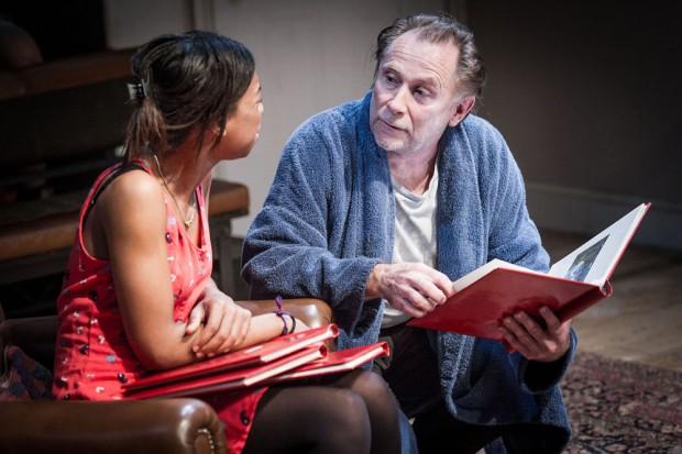 Pippa Bennett-Warner and Danny Webb in The Witness. Photo: Robert Workman