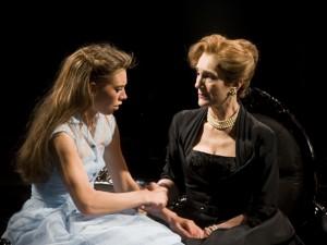 Vanessa Kirby and Harriet Walter in Women Beware Women. Photo: Simon Annand