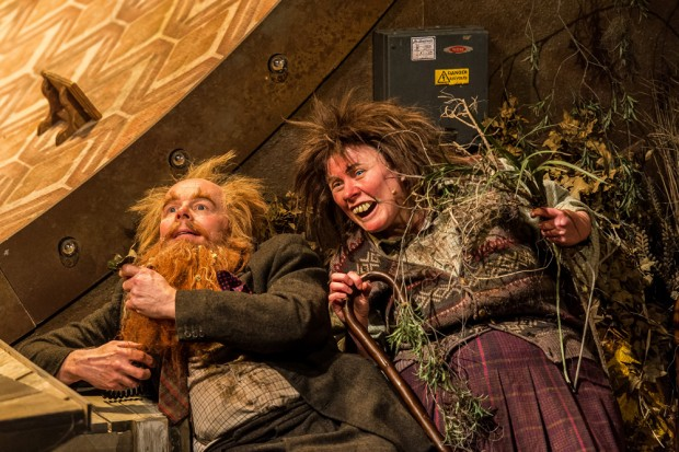 Jason Watkins and Monica Dolan in The Twits. Photo: Manuel Harlan
