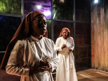 Akiya Henry and Lynette Clarke in Sense of an Ending. Photo: Jack Sain