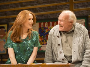 Catherine Tate and Timothy West in The Vote. Photo: Johan Persson