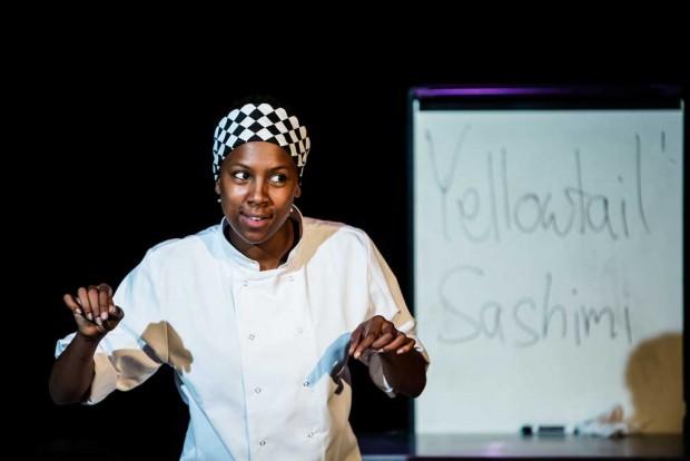 Jade Anouka in Chef. Photo: Richard Davenport