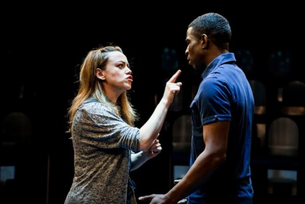 Sian Reese-Williams and Abdul Salis in Lungs. Photo: Richard Davenport