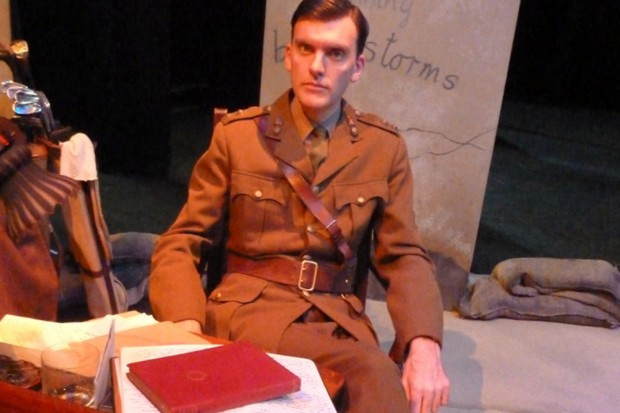 Alasdair Craig in Not About Heroes