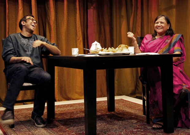 Ravi and Asha Jain in A Brimful of Asian. Photo: Erin Brubacher
