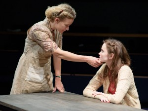 Lorraine Pilkington and Abigail Lawrie in When We Were Women. Photo: Ben Broomfield