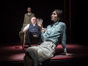 Gary Kemp, Ron Cook and Gemma Chan in The Homecoming. Photo: Marc Brenner