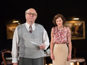 Roger Allam and Nancy Carroll in The Moderate Soprano. Photo: Manuel Harlan