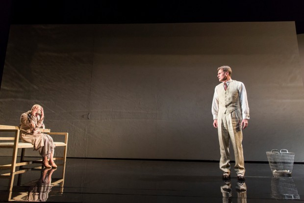 Olivia Williams and Charles Edwards in Waste. Photo: Johan Persson