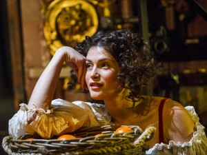 Gemma Arterton in Nell Gwynn. Photo: Tristram Kenton