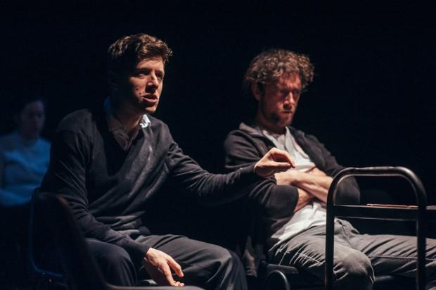 Alex Forsyth and Graham O'Mara in BU21. Photo: David Monteith-Hodge