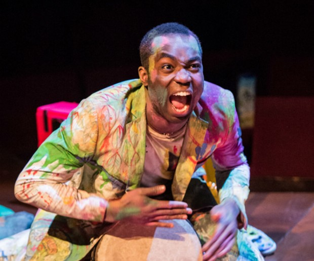 Paapa Essiedu in Hamlet. Photo: Manuel Harlan