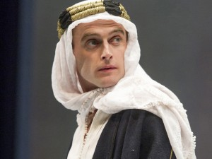 Jack Laskey in Lawrence After Arabia. Photo: Alastair Muir