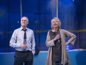 Ian Gelder and Stella Gonet in Human Animals. Photo: Helen Maybanks