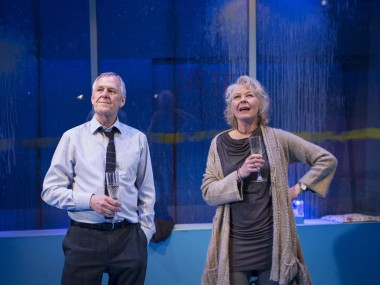 Ian Gelder and Stella Gonet in Human Animals. Photo: Helen Maybanks