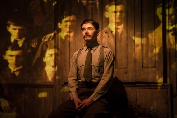 Alexander Knox in It Is Easy To Be Dead. Photo: Scott Rylander