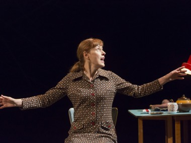 Gina McKee in Faith Healer. Photo: Johan Persson