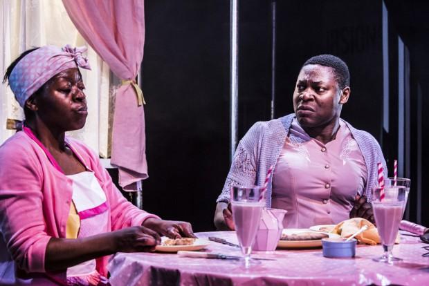 Lynette Clark and Obi Abili in Karagula. Photo: Lara Genovese