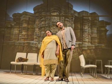 Rina Fatania and Nicholas Khan in Love N Stuff. Photo: Robert Day