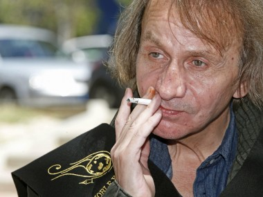Novelist and actor Michel Houellebecq