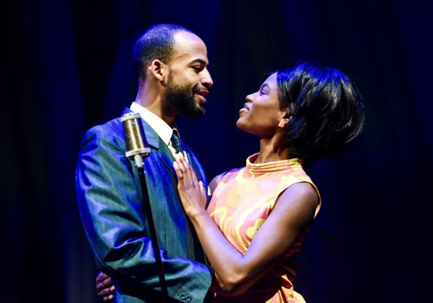 Nathan Ives-Moiba and Abiona Omonua in Soul. Photo: Robert Day