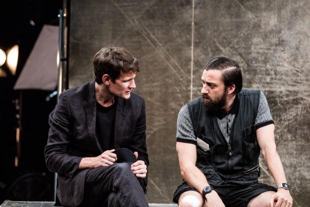 Matt Smith and Richard Pryos in Unreachable. Photo: Matt Humphrey