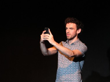 Declan Perring in Screens. Photo: Pank Sethi