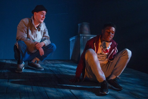 Alan Mahon and Ammar Duffus in If We Got Some More Cocaine.... Photo: Claudia Marinaro
