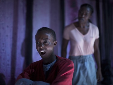 Abiola Ogunbiyi and Yvette Boakye in Girls. Photo: Creative Nation