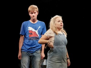 Rhys Isaac-Jones and Nicola Coughlan in Jess and Joe Forever. Photo: The Other Richard