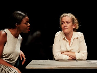 Emmanuella Cole and Emma Fielding in Revolt. She Said. Revolt Again. Photo: Richard Lakos