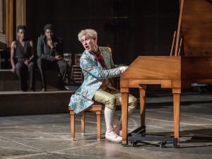 Adam Gillen in Amadeus. Photo: Marc Brenner