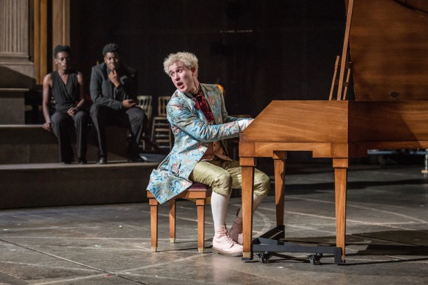 Adam Gillen in Amadeus. Photo: Marc Brenner