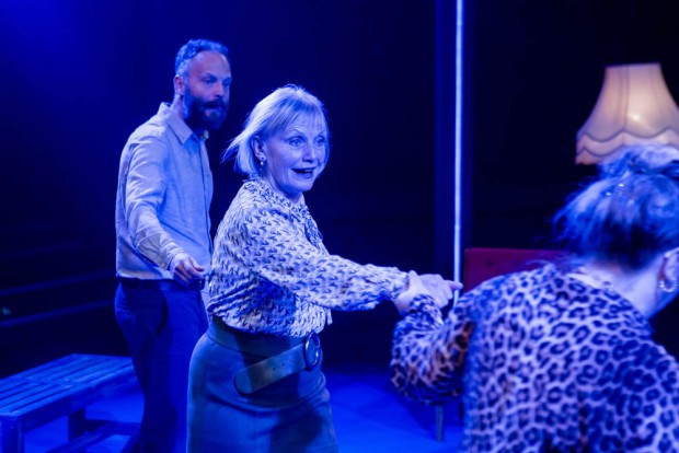Alex Beckett and Amelda Brown in Blue Heart. Photo: The Other Richard