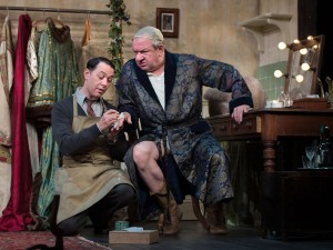 Reece Shearsmith and Ken Stott in The Dresser. Photo: Bill Knight