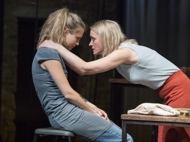 Yolanda Kettle and Anne-Marie Duff in Oil. Photo: Richard H Smith