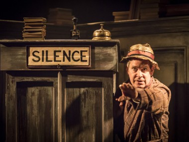Tom Hollander in Travesties. Photo: Johan Persson