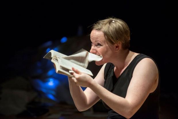 Hannah Silva in Schlock! Photo: Peter Everard Smith