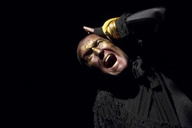 Pat Kinevane in Underneath. Photo: Patrick Redmond