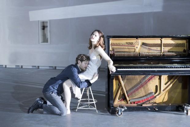 Kyle Soller and Ruth Wilson in Hedda Gabler. Photo: Jan Versweyveld