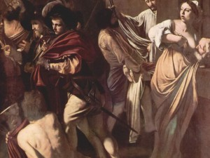 Detail of The Seven Acts of Mercy