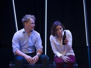Nicholas Banks and Mitzli Rose Neville in Dubailand. Photo: Tim Hall