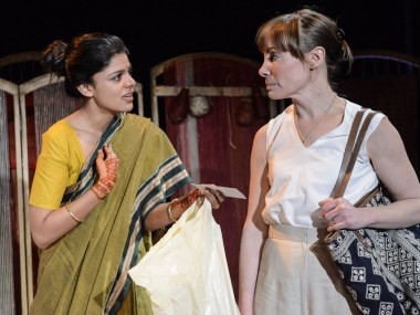 Ulrika Krishnamurti and Gina Isaac in Made in India. Photo: Robert Day