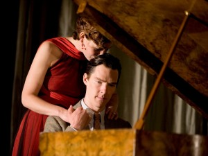 Nancy Carroll and Benedict Cumberbatch in After the Dance. Photo: Geraint Lewis