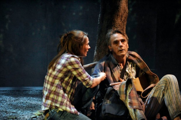 Joanna Horton and Jeremy Irons in The Gods Weep