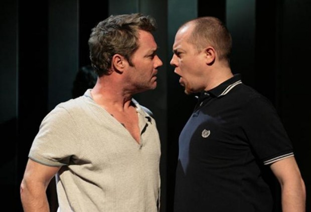 Marty Maguire and Chris Corrigan in Chronicles of Long Kesh. Photo: John Bausher