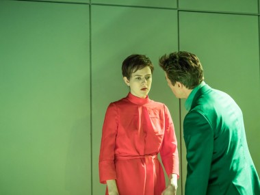 Aisling Loftus and Julian Ovenden in The Treatment. Photo: Marc Brenner