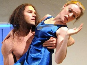 Matthew Clancy and Sarah Chamberlain in Biblical Tales